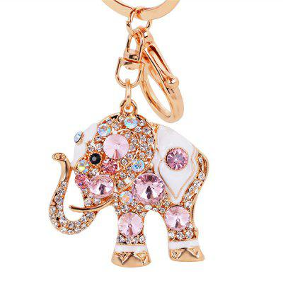 Exquisite Diamond Elephant Jewelry Ornament Pendant