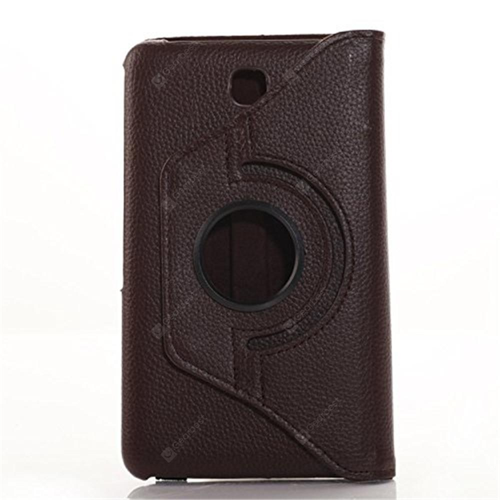 Rotating Case for Galaxy Tab 4 7.0 SM-T230 SM-T231 SM-T230NU -  Coffee