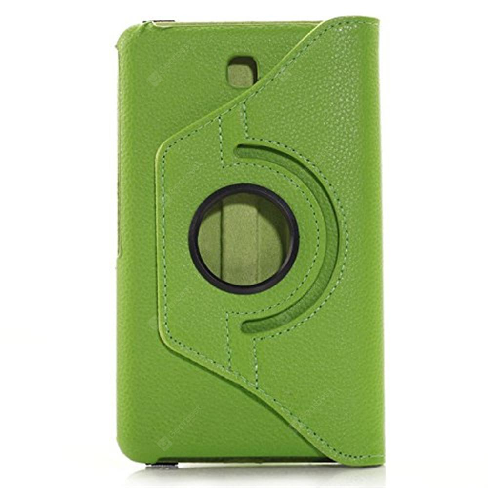 Rotating Case for Galaxy Tab 4 7.0 SM-T230 SM-T231 SM-T230NU -  Green