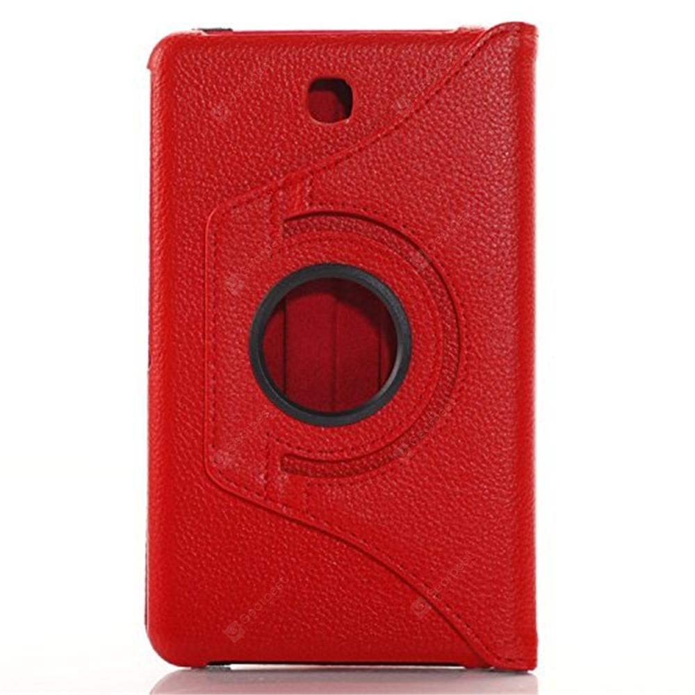 Rotating Case for Galaxy Tab 4 7.0 SM-T230 SM-T231 SM-T230NU -  Red