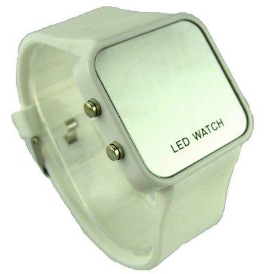 New Fashion Silica Gel Electronic Digital Touch Screen LED Watch
