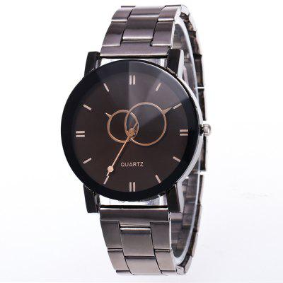 Fashion Steel Lady Creative Watch