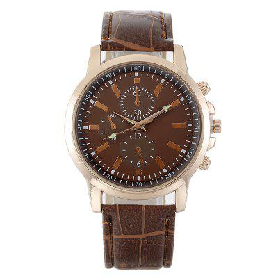 Fashionable New Oil Code Lady Business Quartz Personality Dial Candy Color Watch