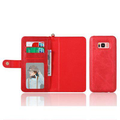 M108 PU Wallet Cover Case  Phone Protector for Samsung Galaxy S8