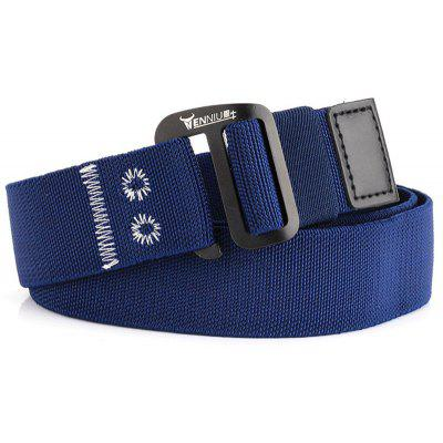 ENNIU New Style Male Outdoor Tactical Training Belt with Cobra Buckle