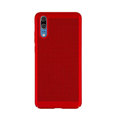 Case for Huawei P20 Heat Dissipation Frosted Back Cover Solid Color Hard PC m 2 solid state hard drive heat sinks nvme ssd full aluminum heat sink for pc cooling system