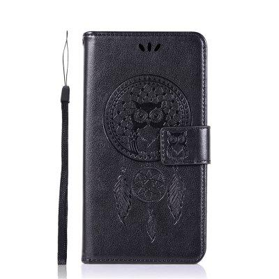 Owl Campanula Fashion Wallet Cover For VIVO Y66 Case PU Luxury Flip Leather Case