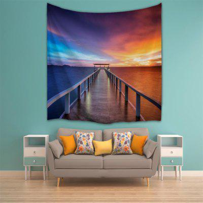 Dusk Trestle 3D Printing Home Wall Hanging Tapestry for Decoration