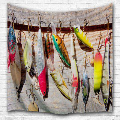 Fishing bait 3D Printing Home Wall Hanging Tapestry for Decoration