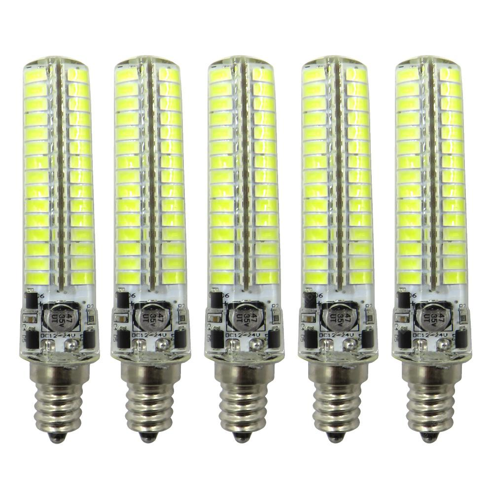 ZHENMING 5PCS E12 DC10-24V Super Bright Lamp Bulb