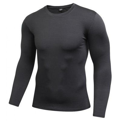 Compression Quick Dry Fitness Tights Gym Men Sportswear Basketball T-Shirt