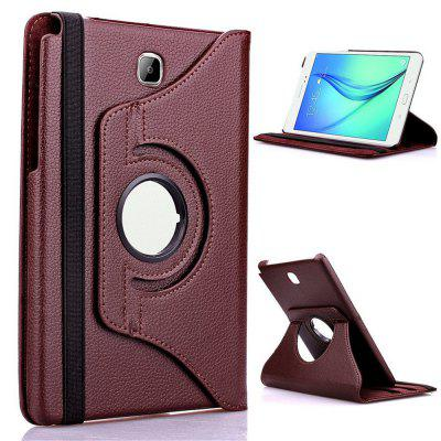 360 Degree Rotating Stand PU Leather Case for  Galaxy Tab A 8.0 SM-T350