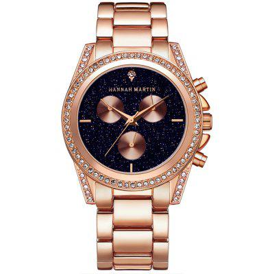 Hannah Martin 1108 Leisure Fashion Luxury Luxury Wrist Watch