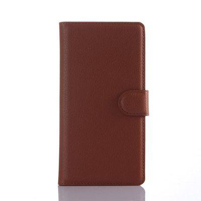 Leather Litchi Pattern Case for Sony Z5