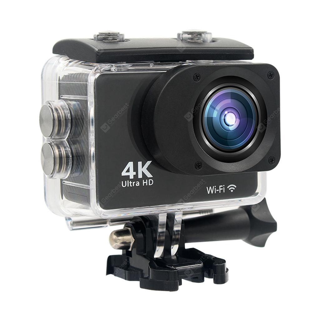 HAMTOD HK2T 4K Wi-Fi Wide-angle Action Sports Camera with Touch Screen