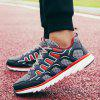 ZEACAVA Mesh Breathable Running  Sports Shoes Men's Casual Shoes - RED