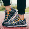 ZEACAVA Mesh Breathable Running  Sports Shoes Men's Casual Shoes - ORANGE