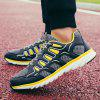 ZEACAVA Mesh Breathable Running  Sports Shoes Men's Casual Shoes - YELLOW