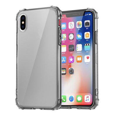 Case for iPhone X Ultra-Slim Shockproof Transparent Back Cover