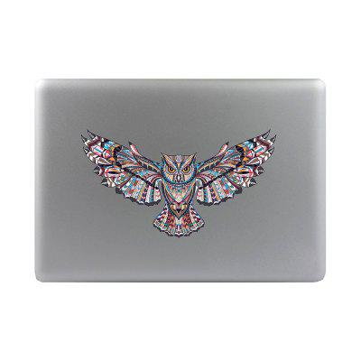 Artistic and Creative Notebook Refrigerator Suitcase Cartoon Owl Sticker M049