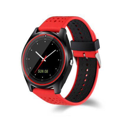 Smartwatch with Camera Bluetooth SIM Card Wristwatch for Android