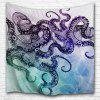 An Octopus 3D Printing Home Wall Hanging Tapestry for Decoration - MULTI-A