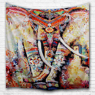 Painted Elephant 3D Printing Home Wall Hanging Tapestry for Decoration