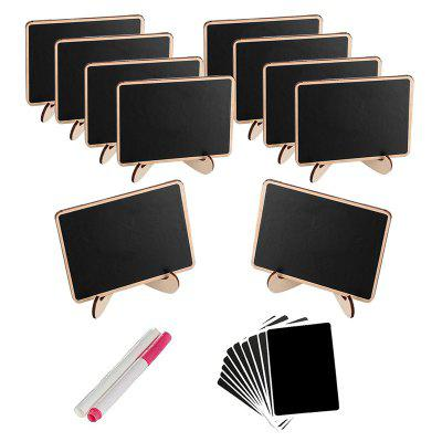 Wooden Ornaments Square Display Panels