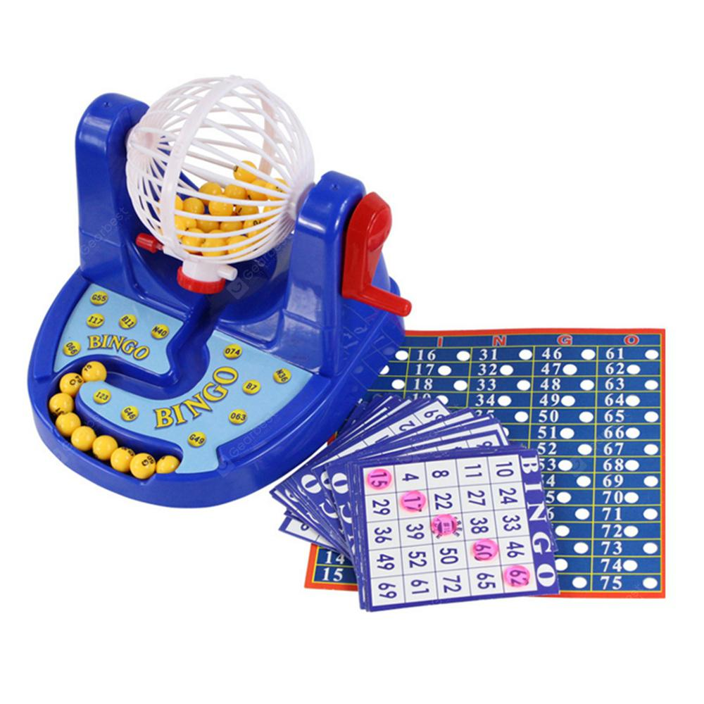 Lottery Game Children Puzzle Desktop Toys Bingo Machine Simulation Machine