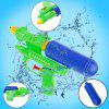 19CM Mini Forceful Spray Squirt Shooting Single Pump Water Gun Pistol Kid Toy - YELLOW GREEN
