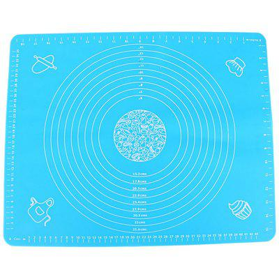 Blue Large Silicone Console Pad