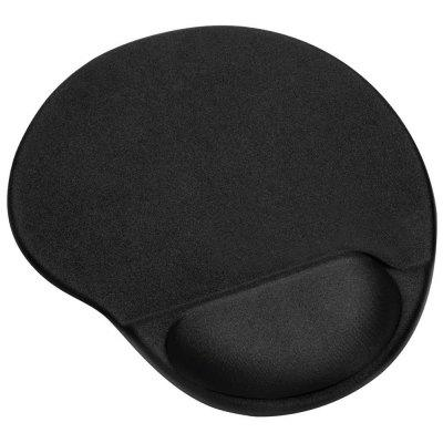 Mouse Pad with Gel Wrist Rest and Non-Slip PU Base