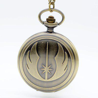 New Fashion Bronze  Quartz Pocket Watch