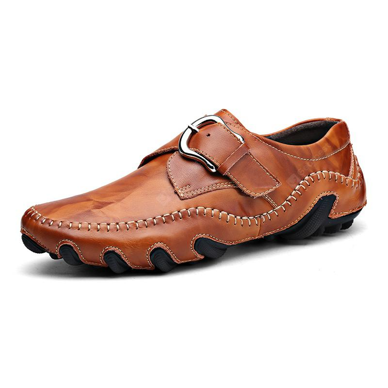 ZEACAVA Men's Fashion Casual Leather Skin Driving Peas Shoes online cheap price outlet locations online for cheap discount eastbay cheap price x4y2b3