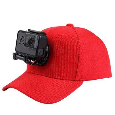 Cappello da baseball con supporti per GoPro / Xiaoyi / SJ e altre action camera