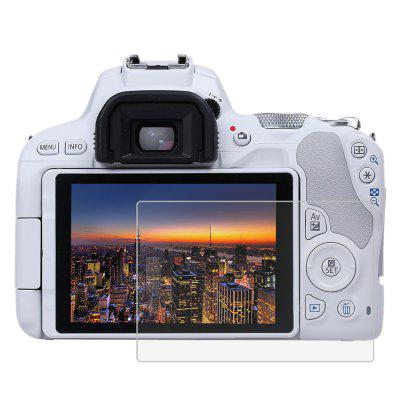 LCD Camera Screen HD Toughened Glass Protective Film for Canon EOS 200D