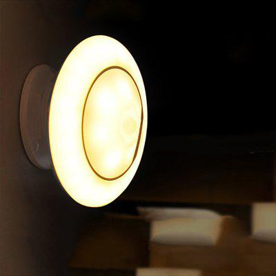 BRELONG Body Sensing Spacecraft Night Light 360-degree Rotating Corridor Light