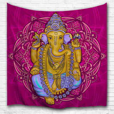 Elephant God 3D Printing Home Wall Hanging Tapestry for Decoration