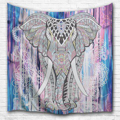 Exotic Elephant 3D Printing Home Wall Hanging Tapestry for Decoration