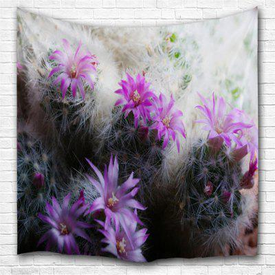 Cactus Flower 3D Printing Home Wall Hanging Tapestry for Decoration