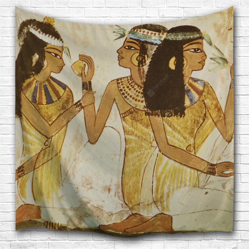 Egyptian Beauty 3D Printing Home Wall Hanging Tapestry for Decoration