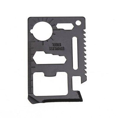 Multi-Function Survival Tool Wild Army Knife Card