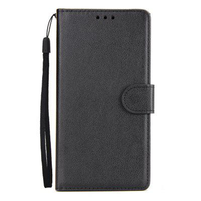 for Huawei P20 Horizontal Flip Stand Case with Wallet and Card Slots
