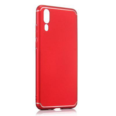 Case for Huawei P20 Art Line Back Cover Solid Color Hard PC