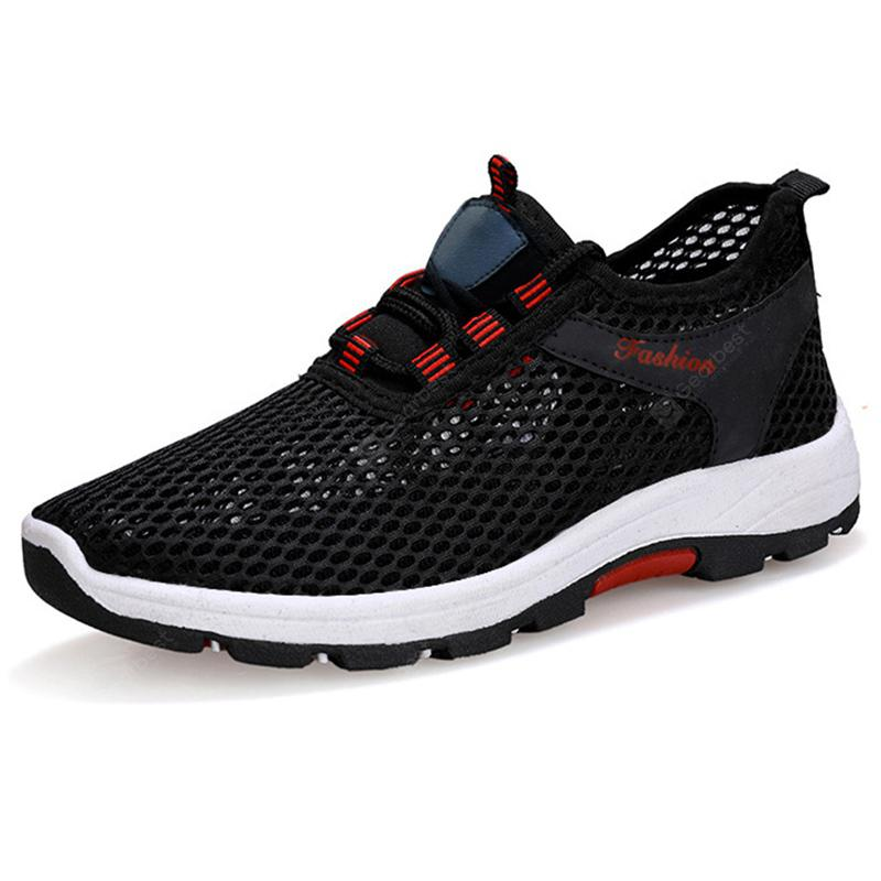 Men Women Mesh Breathable Sneakers Sport Shoes Casual Running Shoes Net Shoes UK