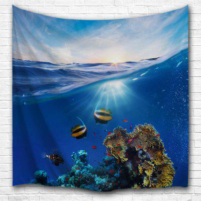 Sea Shimmer 3D Printing Home Wall Hanging Tapestry for Decoration