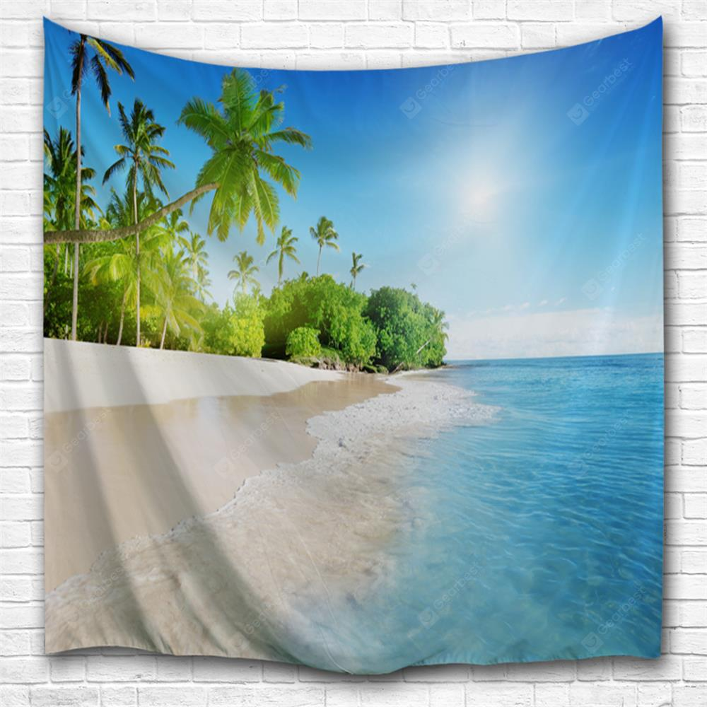 Blue Sky and Water 3D Printing Home Wall Hanging Tapestry for Decoration