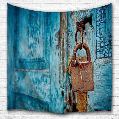 Door Lock 3D Printing Home Wall Hanging Tapestry for Decoration