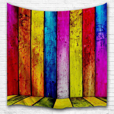 Colorful Planks 3D Printing Home Wall Hanging Tapestry for Decoration