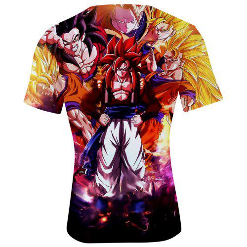 2018 shirtMulti Comic a Nouveau 4xl T Dragon Ball mN08nvwO